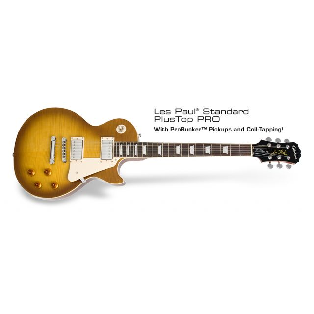 EPIPHONE LP STANDARD PLUS-TOP PRO