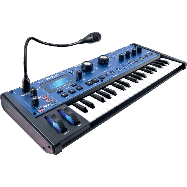 NOVATION SYNTHE ANALOGIQUE VIRTUEL