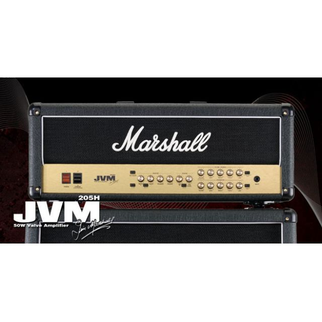 MARSHALL TETE 2 CANAUX 50W