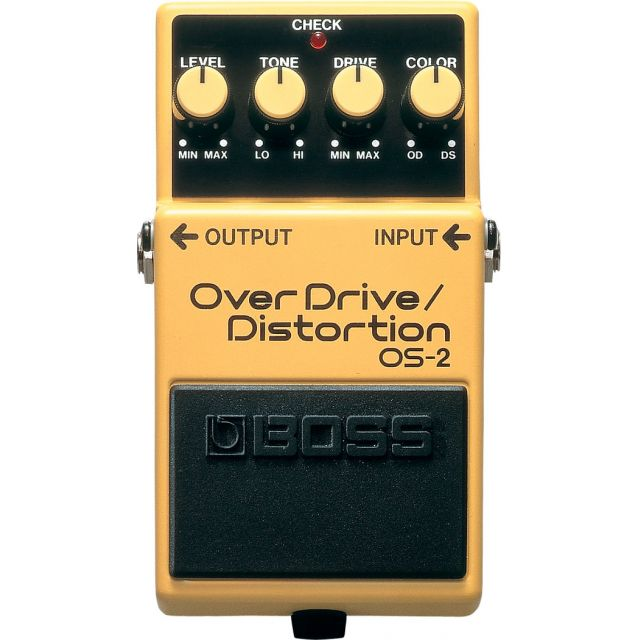BOSS OVERDRIVE/DISTORTION