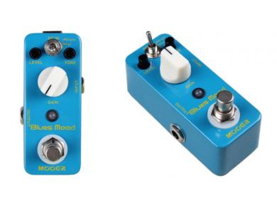 MOOER OVERDRIVE TYPE BLUES