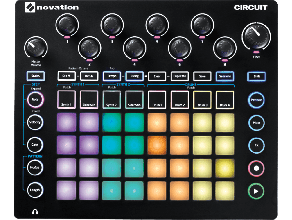 GROOVE MACHINE NOVATION