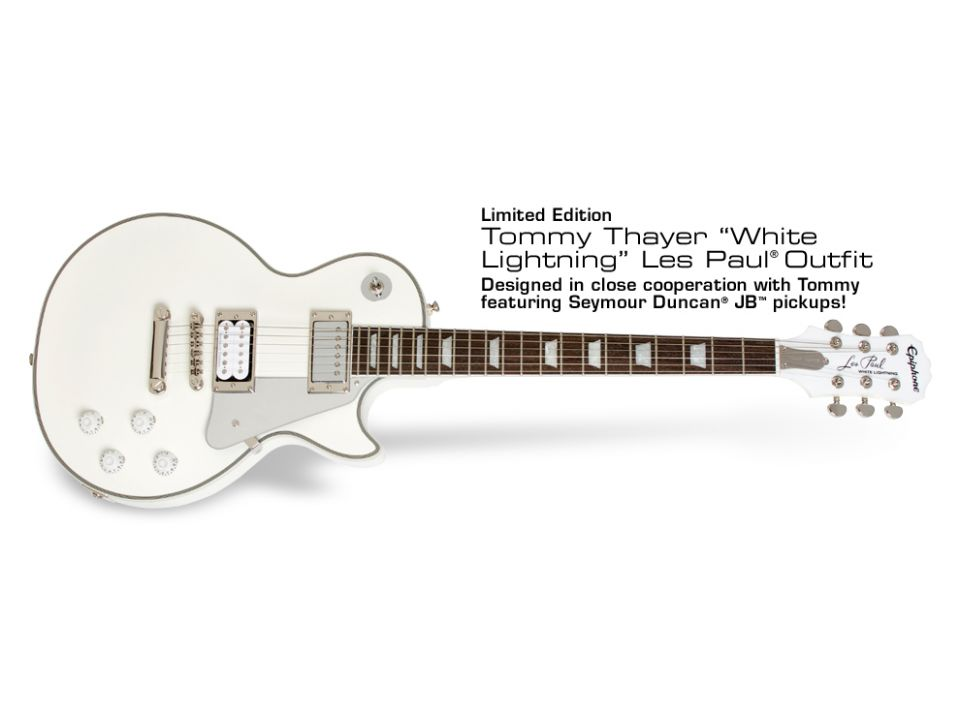 EPIPHONE LP TOMMY THAYER LIGHTNING