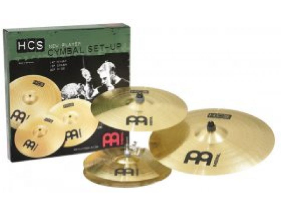 PACK CYMBALES SERIE HCS