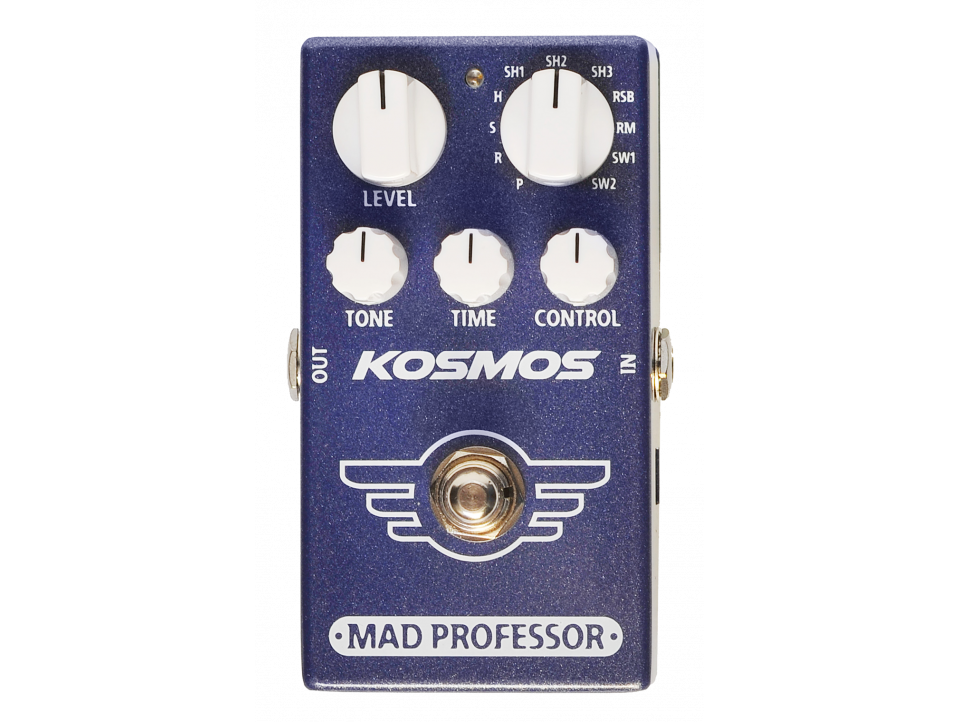 EFFET MAD PROFESSOR REVERB/DELAY