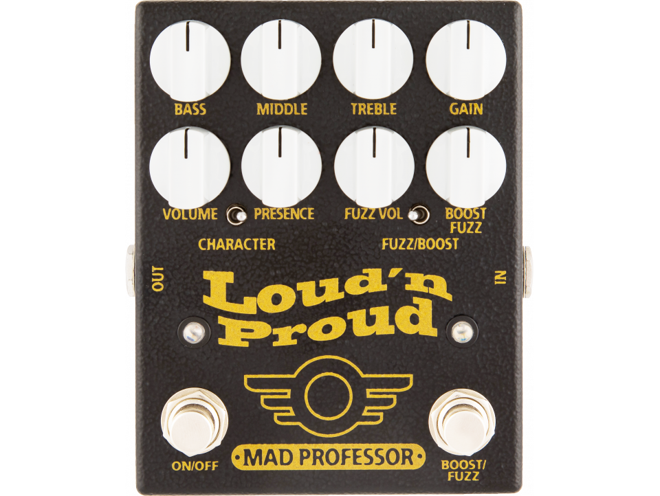 EFFET MAD PROFESSOR OVERDRIVE/DISTORTION