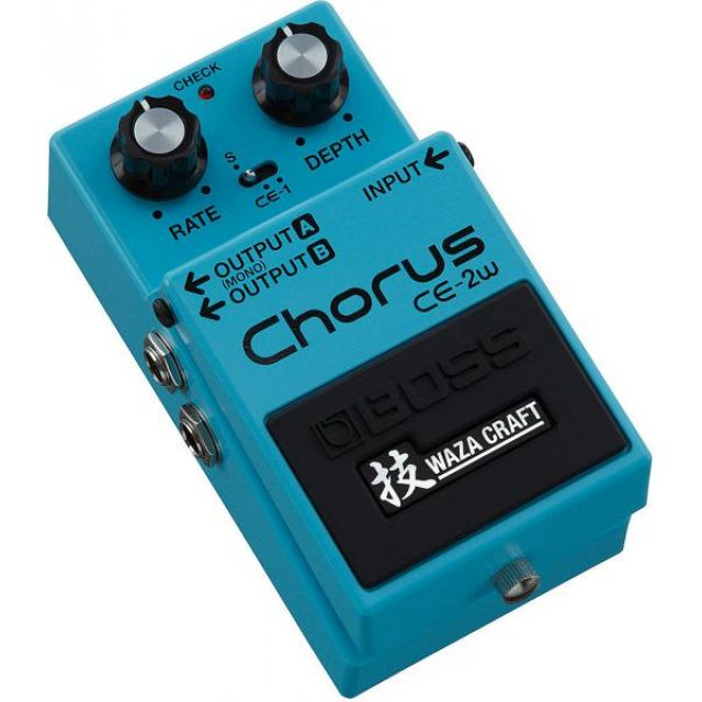 BOSS CHORUS WAZACRAFT